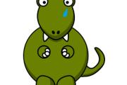 Il dinosauro triste